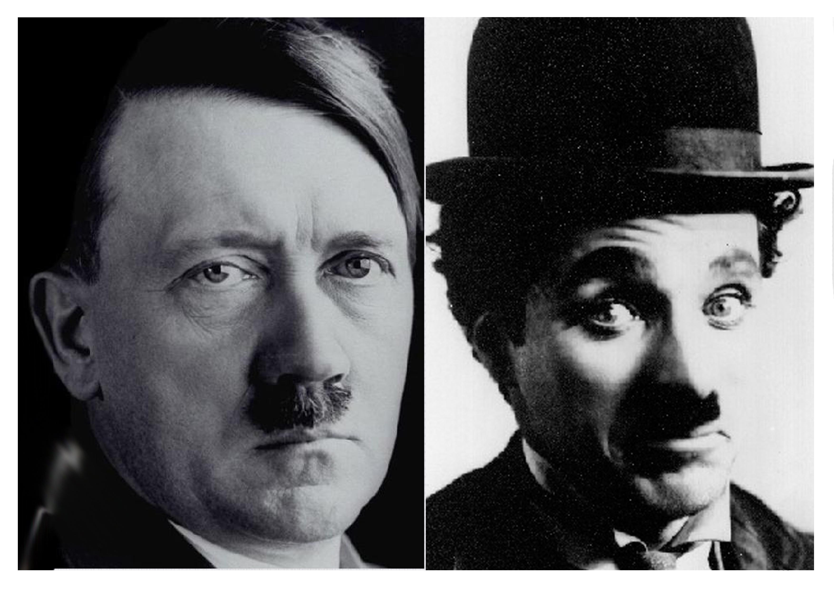 Charlie Chaplin VS Adolf hitler, Siapa Meniru Siapa?